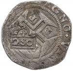 PORTUGAL: Afonso VI, 1656-1667, AR 250 reis (10.90g), ND (1663), KM-435.3, Gomes-A6.42.06, Vaz-Ag.17