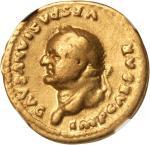 VESPASIAN, A.D. 69-79. AV Aureus (7.02 gms), Rome Mint, ca. A.D. 76. NGC FINE, Strike: 5/5 Surface: