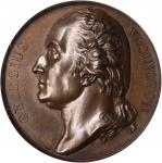 1819 (ca. 1830) Series Numismatica Medal. Washington Issue. Bronze. 41.9 mm. Musante GW-100, Baker-1