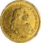 ITALY. Naples & Sicily. 6 Ducati, 1775-BP CCR. Naples Mint. Ferdinand IV. NGC MS-64.