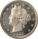 1906 Liberty Head Nickel. Proof-67+ (PCGS). CAC.