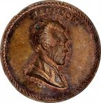 Undated (ca. 1860s) Andrew Jackson the Stern Old Solder medal by J.A. Bolen. Copper. Musante JAB-27.