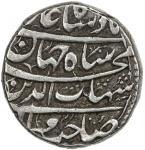 Lot 2403 MUGHAL: Shah Jahan I, 1628-1658, AR rupee 4011.35g41, Kashmir, AH40104141, KM-224.12, month