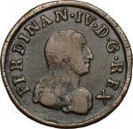 Monete e Medaglie di Zecche Italiane, Napoli.  Ferdinando IV di Borbone (1759-1816). 9 cavalli 1804.