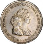ITALY. Tuscany. 10 Lire, 1807. Florence Mint. Carlo Ludovico & Maria Louisa. NGC MS-62+.