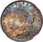1887 Morgan Silver Dollar. MS-66+ (NGC). CAC.