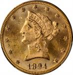 1894 Liberty Head Eagle. MS-64 (PCGS).