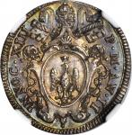 ITALY. Papal States. Giulio, ND (1722). Innocent XIII. NGC MS-64.