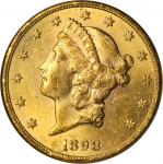 1898-S Liberty Head Double Eagle. MS-62 (NGC).