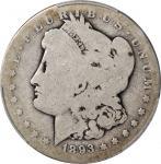 1893-S Morgan Silver Dollar. AG-3 (PCGS).