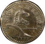 1787 New Jersey copper. Maris 59-o. Rarity-5+. Sawtooth. EF Detail, Rim Damage (PCGS).