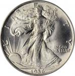 1936 Walking Liberty Half Dollar. MS-65 (PCGS). CAC. OGH.