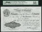 Bank of England, Kenneth Oswald Peppiatt (1934-1949), 」100, Liverpool 29 September 1936, serial numb