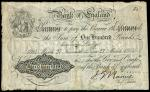 Bank of England, John Gordon Nairne (1902-1918), 100, Newcastle, 27 March 1914, serial number 11/Y 4