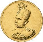 LE MONDE ARABE IRAN  qAJAR DYNASTY Muzaffar alDin Shah, AH 13131324 (18961907)