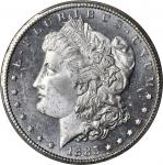 1885-CC Morgan Silver Dollar. MS-64+ DMPL (PCGS).