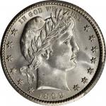 1899-O Barber Quarter. MS-66 (PCGS).