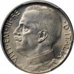 ITALY. 50 Centesimi, 1924-R. Rome Mint. PCGS MS-63 Gold Shield.