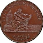 英国 (Great Britain) ジョージ3世像 1クラウン試鋳銅貨 1820年 ESC2059 / George III 1 Crown Copper Pattern Proof
