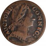 1785 Connecticut Copper. Miller 4.3-A.2, W-2365. Rarity-3. Mailed Bust Right. VF-20 (PCGS