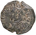 Italian coins;NAPOLI Filippo IV (1621-1665) Tornese 1631 - Magliocca 103 CU (g 5.15) - BB;50