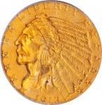 1913 Indian Half Eagle. MS-63 (PCGS). OGH.
