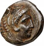 MACEDON. Kingdom of Macedon. Alexander III (the Great), 336-323 B.C. AE Unit, Uncertain mint in Mace