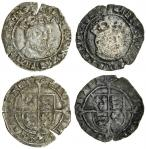 Henry VIII (1509-47), third coinage, Groats (2), both York, 2.23g, m.m. none, henric 8 d g agl fra z