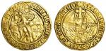 Henry VIII (1509-47), Angel, first coinage, 4.97g, mm. pheon, henric viii di?gra?rex agl?z fr? salti