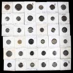 MIXED LOTS. Group of Mixed Bronze Denominations (36 Pieces). Average Grade: CHOICE FINE.