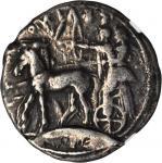 SICILY. Selinus. AR Tetradrachm (16.94 gms), ca. 460-440 B.C. NGC FINE, Strike: 4/5 Surface: 4/5.