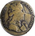 Undated (Possibly ca. 1793) Success Medal. Large Size. Brass. Plain Edge. Fine-15 (PCGS).