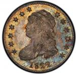 1822 Capped Bust Quarter. Browning-1. Rarity-2. Mint State-64 (PCGS).PCGS Population: 4, 2 fin
