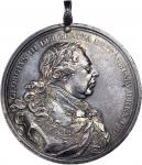 1814 George III Indian Peace Medal. Large Size. Adams 12.1 (Obverse 1, Reverse A). Silver. About Ext