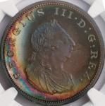 英国 (Great Britain) ウィリアム4世像 1ペニー銀打試鋳貨(再鋳貨) 1805年 Peck537 / William IV 1 Penny Silver Restrike Petter