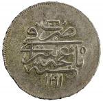 GIRAY KHANS: Shahin Giray, 1777-1783, AR 20 para (yirmilik, ¼ rouble) (7.23g), Baghcha-Saray, AH1191