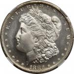 1882-S Morgan Silver Dollar. MS-68 PL (NGC).