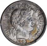 1900-S Barber Dime. MS-65 (PCGS). CAC.