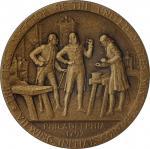 1951 United States Assay Commission Medal. Bronze. 51 mm. By Engelhardus von Hebel and Frank Gasparr