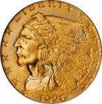 1926 Indian Quarter Eagle. MS-64 (PCGS).