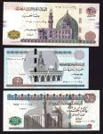 x Central Bank of Egypt, 5, 10, 20, 50, 100, 200 pounds, serial numbers 0000034, (Pick 63-68, TBB B2