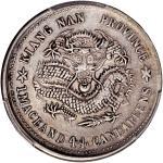 Kiangnan Province, silver 20 cents, Jihai Year (1899),  Guangxu Yuan Bao , old dragon,(Y-143a.2, LM-