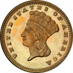 1869 Gold Dollar. MS-67 (PCGS). CAC.