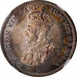 CEYLON. 25 Cents, 1926. London Mint. NGC PROOF-66.