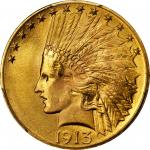 1913 Indian Eagle. MS-66 (PCGS).