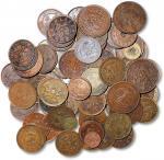 清代到民国铜币一组83枚 优美