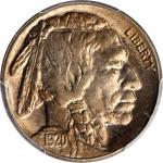 1920-S Buffalo Nickel. MS-65 (PCGS).