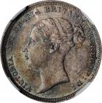 GREAT BRITAIN. 6 Pence, 1885. London Mint. Victoria. NGC MS-64.