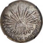 MEXICO. 4 Reales, 1851-Go PF. Guanajuato Mint. NGC VF-35.