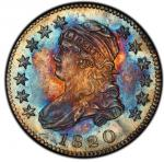 1820 Capped Bust Quarter. Browning-1. Rarity-8 as a Proof. Large 0. Proof-66 (PCGS). PCGS Popul